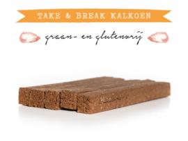 Kivo Take & Break Kalkoen | 2 staven | Hond (AK)