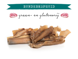 Kivo Runderkophuid gezaagd - 500 gram | Hond (X)