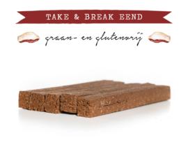 Kivo Take & Break Eend | 2 staven | Hond (AO)