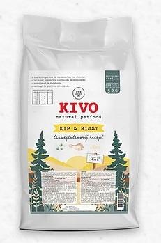 Kivo Kat Sterilised/Senior - Kip & Rijst   5kg (25)