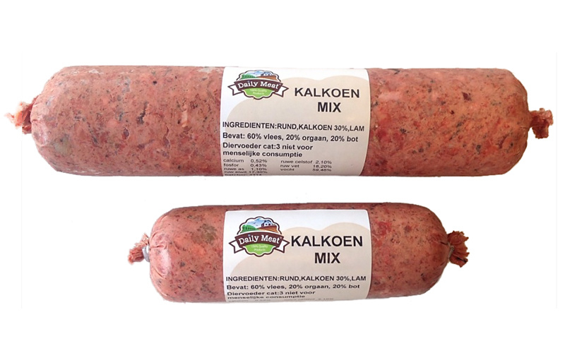 Daily Meat Kalkoen-Mix