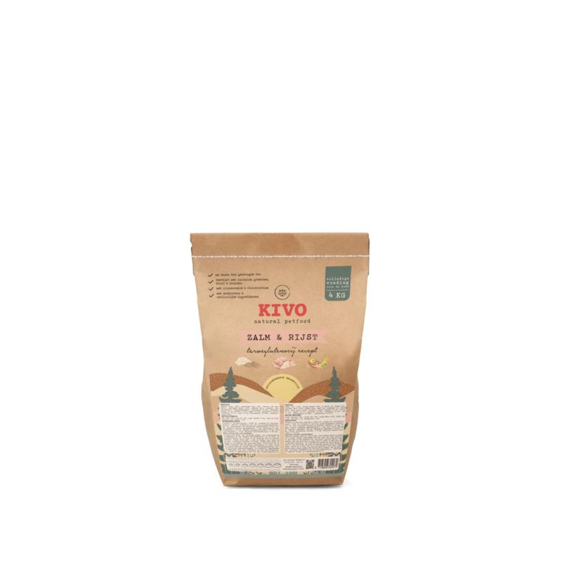 Kivo Zalm & Rijst geperst   4kg (30)