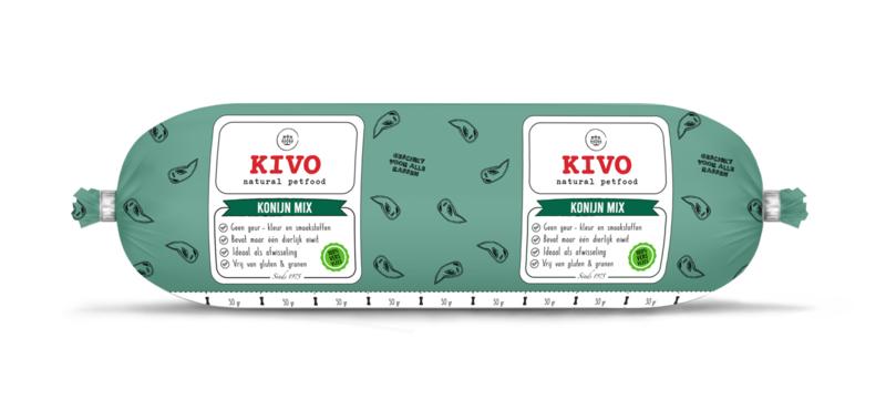 Kivo Konijn Mix   aanvullende voeding