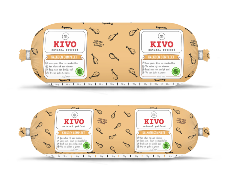Kivo Kalkoen Compleet