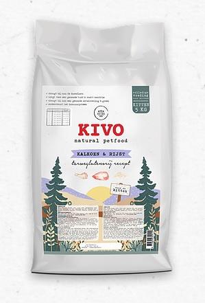Kivo Kitten - Kalkoen & Rijst   5kg (26)