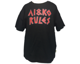 GIRLS-ai&ko t-shirt black-128