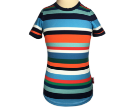 br@nd  t-shirt stripe blue-110/116