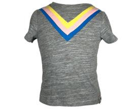 GIRLS-looxs t-shirt greymelee-116