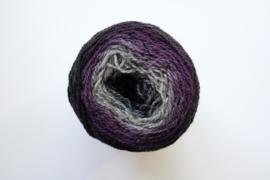 012 | Aubergine, violet, grijspaars, zilver en donkergrijs