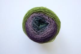 020 | Paarsblauw, grijsgroen, lila, aubergine en grasgroen