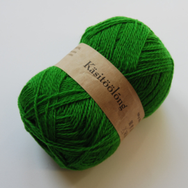 345 | Reggaegroen, 100 gram wol uit Estland