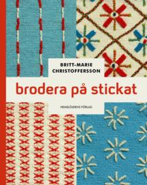 Brodera på stickat - Britt Marie Christoffersson