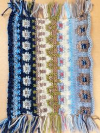 Een knipbies maken in breiwerk/steeking