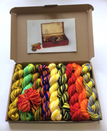 Van Gogh's box of yarns