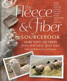 Book - The Fleece & Fiber Handbook - Deborah Robson & Carol Ekarius