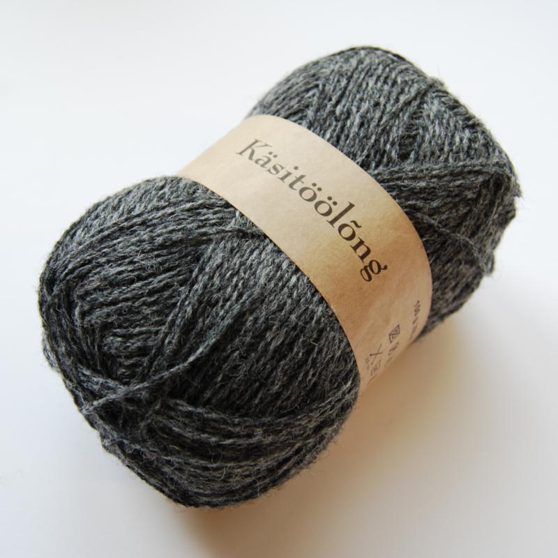 206 | Grijs, 100 gram wol uit Estland