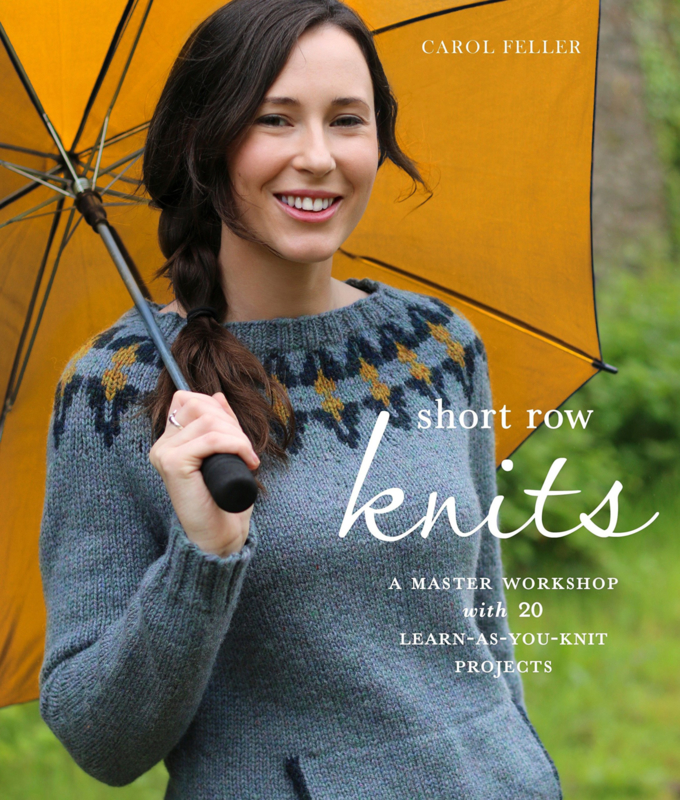 Book - Short Row Knits - Carol Feller