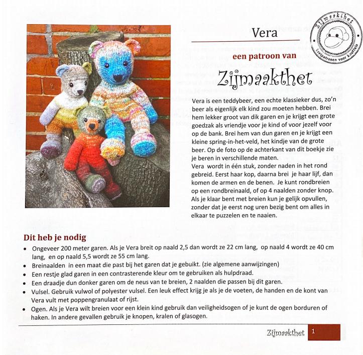 Book - Vera - Zijmaakthet