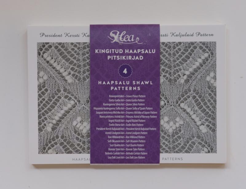005 | Ansichtkaarten met Haapsalu sjaalpatronen #4
