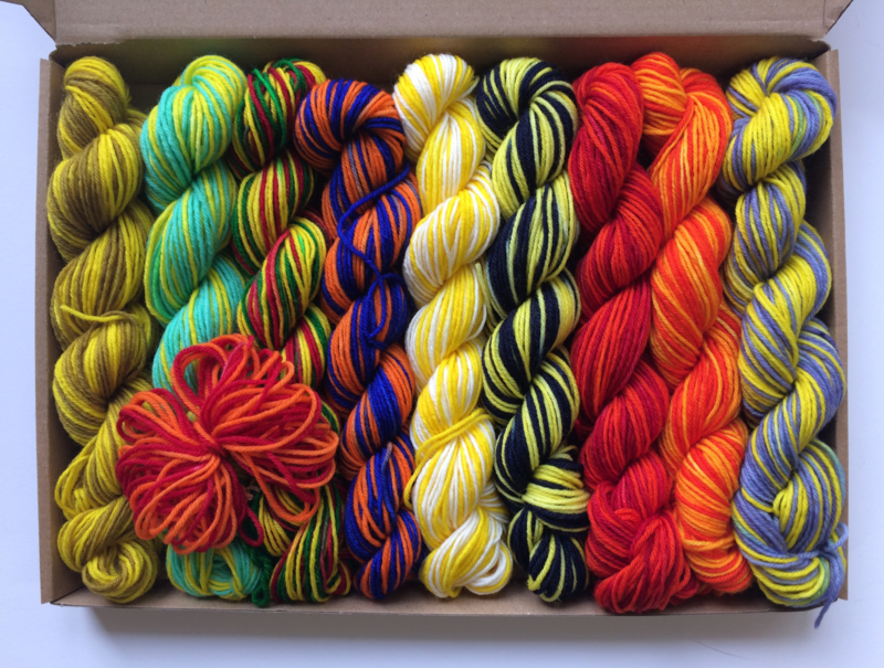Van Gogh's box of yarns