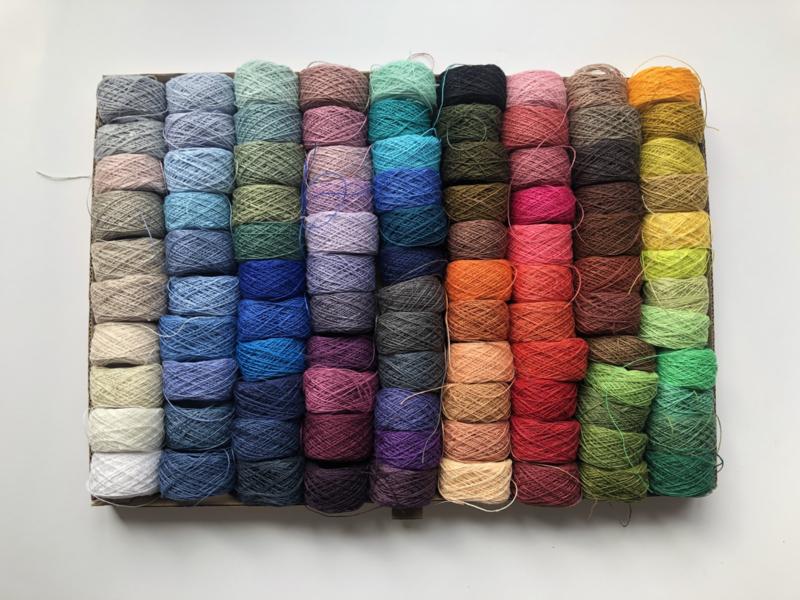 0100 | Alle 100 kleuren x 10 gram (60 meter)