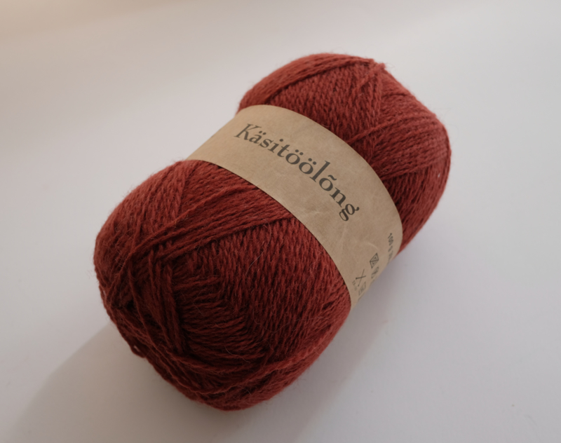 276   Roest, 100 gram wol uit Estland