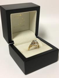 18 K Gouden Fantasie Ring 0.75 crt Diamant TW-VVS1