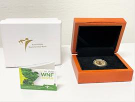 Gouden Tien Euro - 50 Jaar WNF 2011 / Proof in Cassette Incl Certificaat