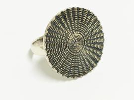 Zilveren Fantasie Ring - Sunlight
