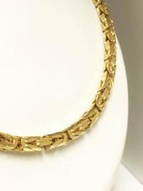 18 K Massief Gouden Koningsketting Byzantijns - 64 cm / 141,40 g