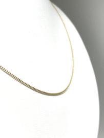 14 K Gouden Gourmet Collier - 50 cm