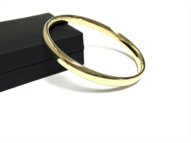 14 K Gouden Slaven Armband / Bangle - 16,5 g / 18 cm / 7 mm
