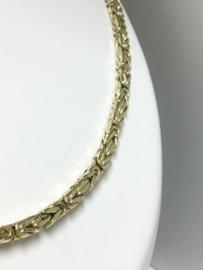 14 K Gouden Koningsketting Byzantijns - 65 cm / 19,5 g