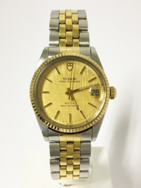 Tudor Prince Oysterdate Rolex Oyster Case  Automaat Staal / Goud - Jaren '90