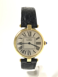 Cartier Le Must Vermeil Ronde Midsize 30 mm - Full Set