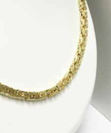 14 K Gouden Koningsketting Byzantijns 66 cm / 101,2 g