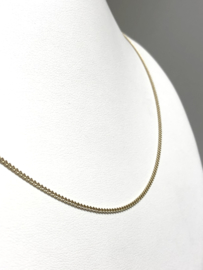 14 K Gouden Gourmet Ketting - 51,5 cm / 3 g