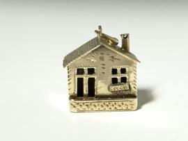 Vintage 14 K Gouden Bedel Huisje - 1,5 cm