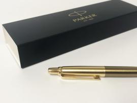 Parker Royal Jotter Premium West End Brushed Gold - Full Set