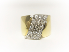 18 K Gouden Bandring 0.60 crt Briljantgeslepen Diamant G/H - VS2