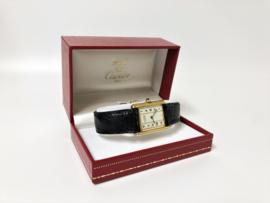 Must de Cartier Tank Quartz Dames Polshorloge - Full Set