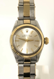 ROLEX Oyster Perpetual No Date Lady 1967 - Staal Goud / Full Set