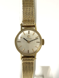 Omega Gouden Dames Polshorloge 1966 - Handopwinder / Vintage