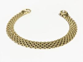 14 K Gouden Heren Schakel Armband - 20 cm / 18,75 g