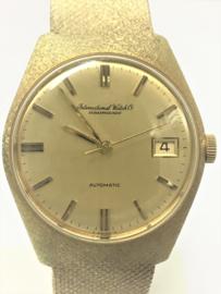 IWC Schaffhausen Gouden Heren Polshorloge - Automaat / 1963