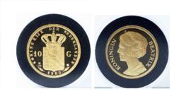 Nederland - Penning Gouden Tientje Beatrix 1980 Herslag in Goud