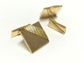 18 K Antiek Gouden Manchetknopen (Bewerkt) - 7,7 g
