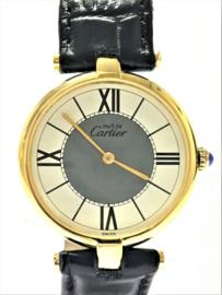 Cartier Vermeil Ronde - Dames polshorloge