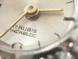Ancre Witgouden Dames Horloge 0.50 crt Briljantgesl Diamant