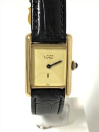 Cartier Must de Cartier Tank Handopwinder - Dames Polshorloge